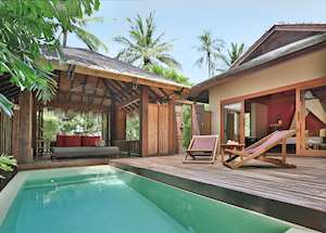 Lagoon Pool Suite, Anantara Rasananda Resort, Koh Phangan