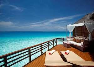 Water Villa Deck, Baros Maldives, Maldive Island