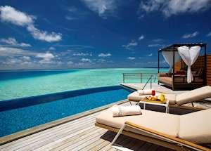 Water Pool Villa, Baros Maldives, Maldive Island