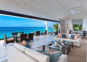 Tree Top Suite Curlew Living Room, The Sandpiper, Barbados