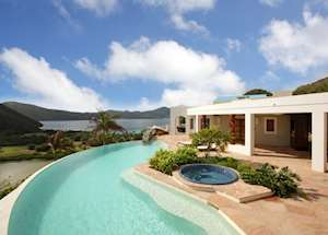 Jost House, Guana Island, Guana Island