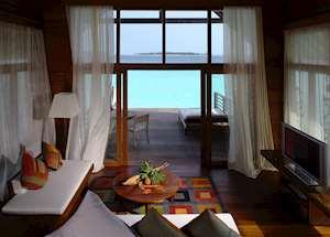 Loft Villa Lounge, COMO Cocoa Island, Maldive Island
