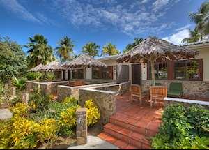 Beachfront Room Exterior, Palm Island Resort & Spa, Palm Island