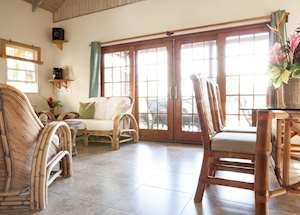 Avocado Villa Living Room, Maca Bana Luxury Boutique Resort, Grenada