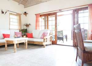 Cherry Villa Living Room, Maca Bana Luxury Boutique Resort, Grenada
