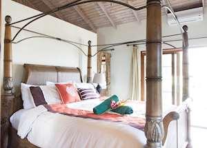 Mango Villa Master Bedroom, Maca Bana Luxury Boutique Resort, Grenada