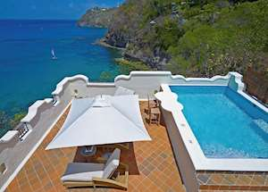One Bedroom Ocean View Villa Suite with Pool & Roof Terrace, Cap Maison, Saint Lucia