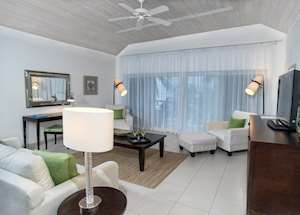 Bay Suite Living Area, Carlisle Bay, Antigua