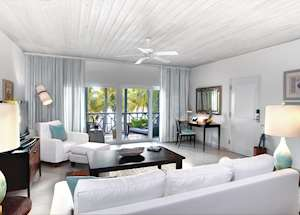 Ocean Suite Living Area, Carlisle Bay, Antigua