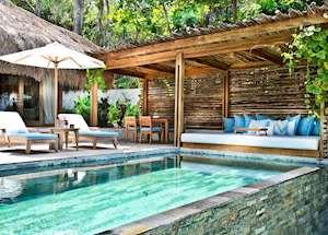 Marangga private pool, Nihiwatu Resort, Pantai Nihiwatu
