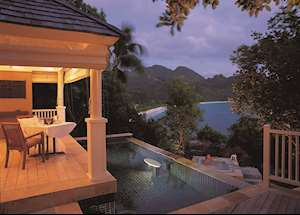 Pool Villa by the Rocks, Banyan Tree Seychelles, Mahe