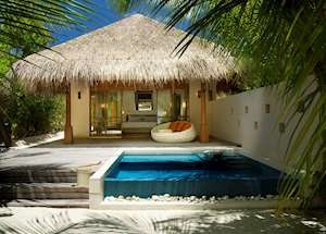 Deluxe Beach Pool Villa, Huvafen Fushi , Maldive Island
