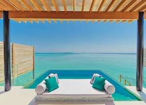 Water Studio with pool, Niyama, Maldive Island