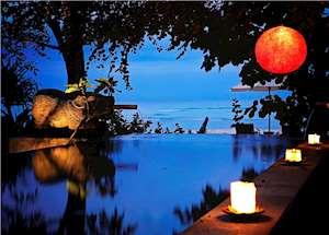 Shanghyang Jagatnata private pool, Tugu Lombok, Sire Beach