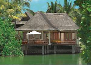 Villa on stilts, Prince Maurice, Mauritius East Coast