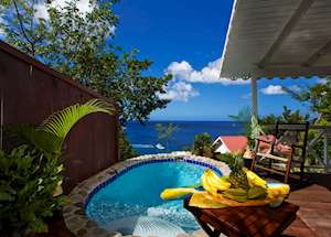 Private Plunge Pool, Ti Kaye Resort & Spa, Saint Lucia