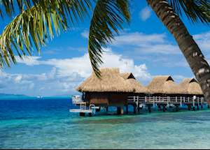 Overwater bungalow, Le Maitai Polynesia