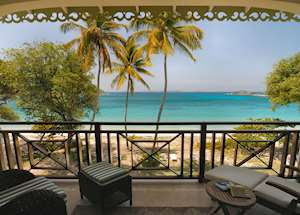 Balcony View, Beachfront Suite, Bequia Beach Hotel, Bequia