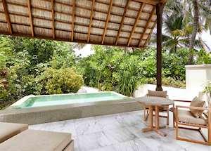 Deluxe Beach Villa, Conrad Rangali Island & Resort, Maldive Island