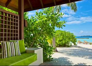 Superior Room patio, Kurumba, Maldive Island