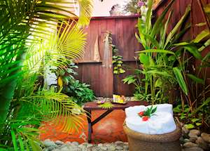 Garden Shower, Ti Kaye Resort & Spa, Saint Lucia