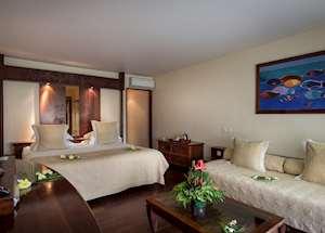 Garden View Room, Manava Beach Resort & Spa - Moorea, Moorea