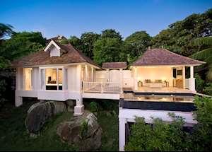 Hillside Pool Villa, Banyan Tree Seychelles, Mahe