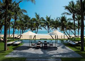 Three Bedroom Beachfront Pool Villa, Four Seasons Resort The Nam Hai, Hoi An