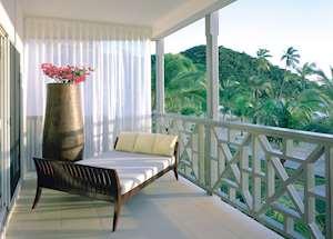 Ocean Suite Balcony, Carlisle Bay, Antigua