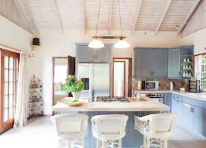 Pineapple Villa Kitchen, Maca Bana Luxury Boutique Resort, Grenada