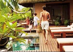 Family villa, Shanti Maurice, Mauritius