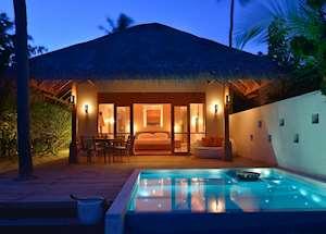 Beach Pool Villa, Huvafen Fushi