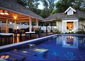 Two Bedroom Double Pool Villa, Banyan Tree Seychelles, Mahe