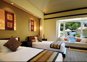 Two Bedroom DoublePool Villa, Banyan Tree Seychelles, Mahe