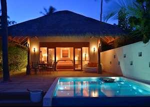 Deluxe Beach Pool Villa, Huvafen Fushi, Maldive Island