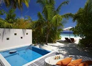 Deluxe Beach Pool Villa, Huvafen Fushi Maldive Island