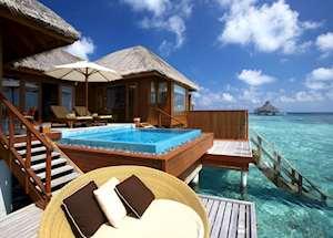 Deluxe Sunset Ocean Pool Villa, Huvafen Fushi, Maldive Island