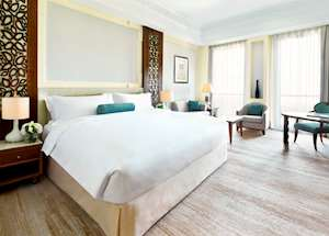 Deluxe mountain view room, Al Bustan Palace, Muscat