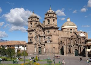 Jesuit church, Cuzco