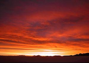 Sunset, Salar de Uyuni