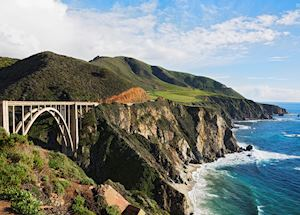 Bixby Bridge at Big Sur California, Pacific Coast High Way