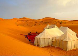 Bedouin Tent, Erg Chebbi