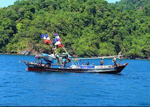 Moken Sea Gypsies, Mergui Archipelago, Burma (Myanmar)
