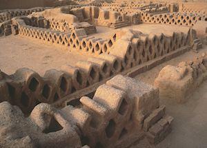 Chan Chan adobe ruins, Trujillo