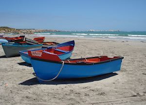 Fishing boats, Paternoster