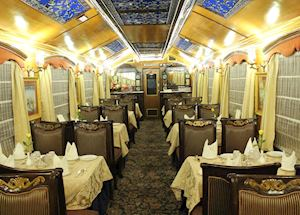 Restaurant, Palace on Wheels