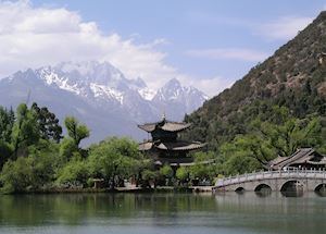 Jade Dragon Snow Mountain & Black Dragon Pond, Lijiang