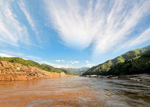 Mekong River views, Laos