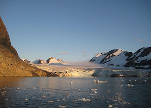 Glacier on Spitsbergen