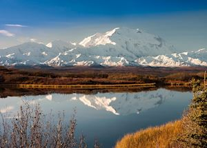 Mount Denali , Denali National Park, Alaska